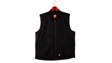 S&M Shield Cut Vest at 69.99. Quality Hoodies and Sweatshirts from Waller BMX.