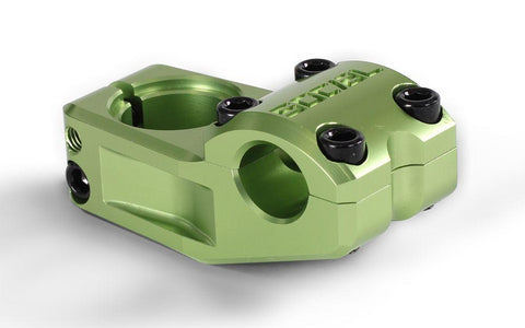 Social Freeloader Raised Top Load Stem Green at . Quality  from Waller BMX.