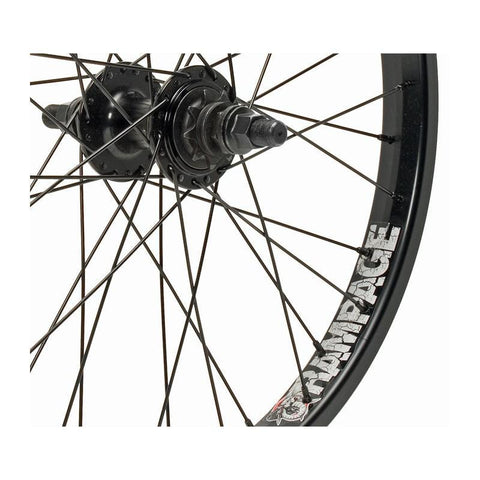 Stolen Rampage Rear Cassette BMX Wheel at 73.19. Quality Rear Wheels from Waller BMX.