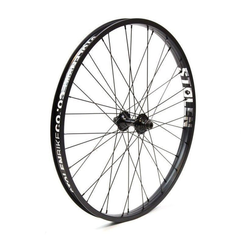 "Stolen Rebellion 24"" Front Wheel at . Quality Front Wheels from Waller BMX."