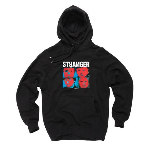 Stranger Heads Hooded Sweatshirt - Black at 57.49. Quality Hoodies and Sweatshirts from Waller BMX.
