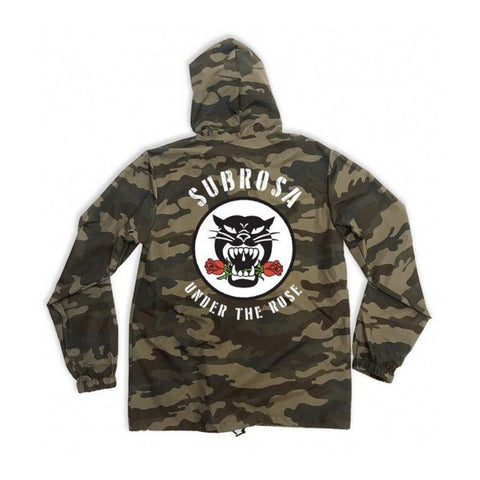 Subrosa Battle Cat Jacket - Camo at 71.99. Quality Jackets from Waller BMX.