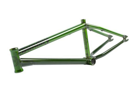 Sunday! Broadcaster Frame at . Quality Frames from Waller BMX.