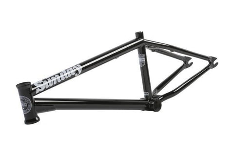"Sunday Radocaster Frame - Gloss Black 21"" at 289.99. Quality Frames from Waller BMX."