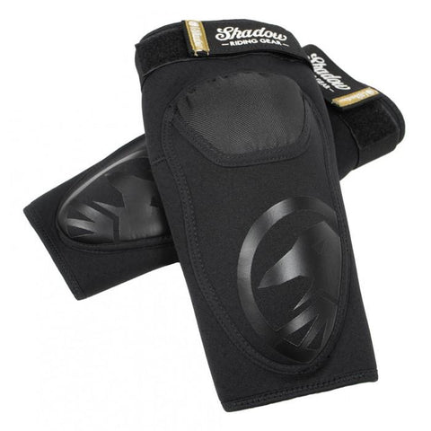 Shadow Super Slim V2 Elbow Pads - Black | BMX