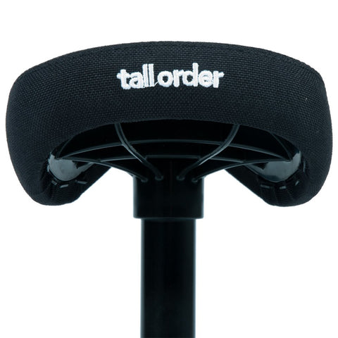 Tall Order 1 Combo Seat - Black With White Embroidery