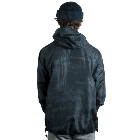 Tall Order Patch Logo Jacket - Black Camo