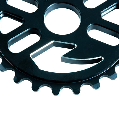 Tall Order One Logo Sprocket - Black