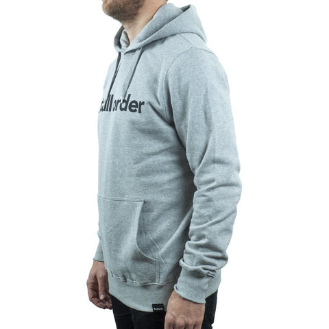 Tall Order Font Hooded Sweatshirt - Grey at 42.49. Quality Hoodies and Sweatshirts from Waller BMX.
