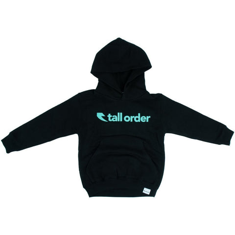 Tall Order Font Kids Hooded Sweatshirt - Black at 29.99. Quality Hoodies and Sweatshirts from Waller BMX.