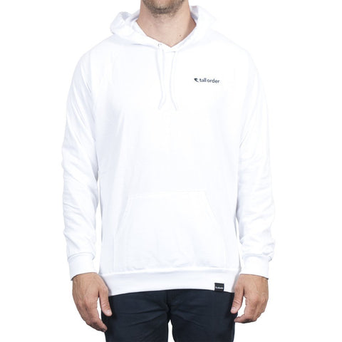 Tall Order Logo Hooded Sweatshirt - White at 42.49. Quality Hoodies and Sweatshirts from Waller BMX.