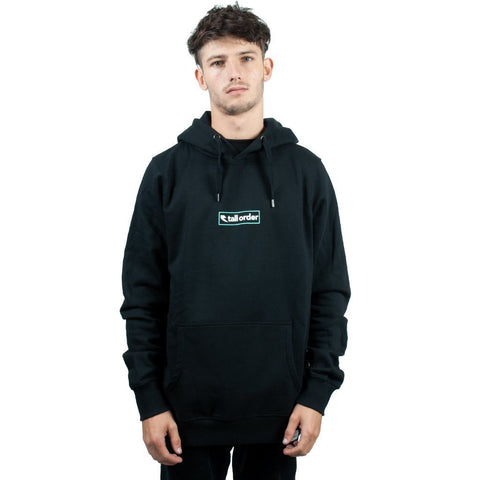Tall Order Outline Logo Hooded Sweatshirt - Black at 43.49. Quality Hoodies and Sweatshirts from Waller BMX.