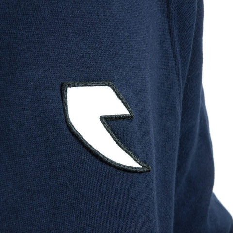 Tall Order Patch / Arm Print Hooded Sweatshirt - Navy Blue at 27.49. Quality Hoodies and Sweatshirts from Waller BMX.