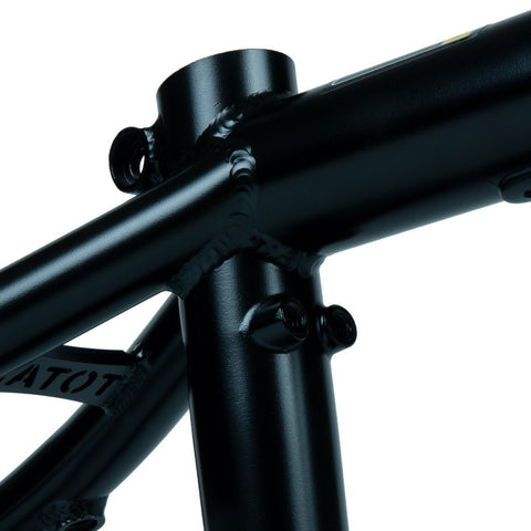 Total BMX Killabee K4 Frame - ED Black at 290.99. Quality Frames from Waller BMX.