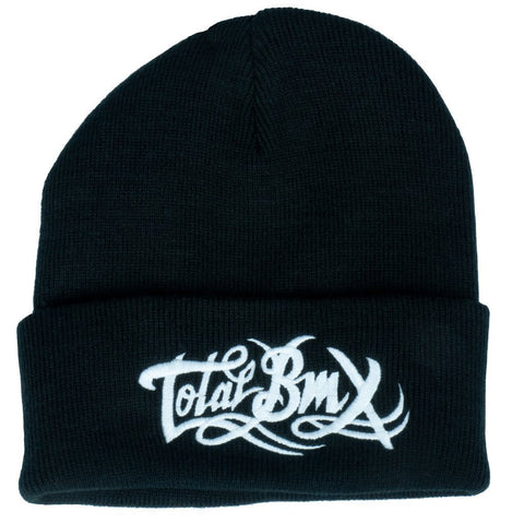 Total BMX Logo Beanie - Black at . Quality Hats and Beanies from Waller BMX.