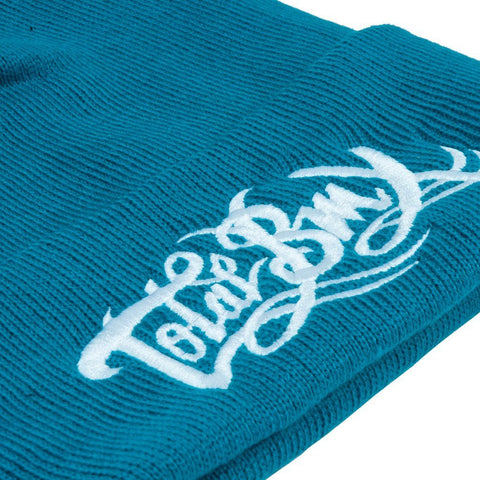 Total BMX Logo Beanie - Teal at . Quality Hats and Beanies from Waller BMX.