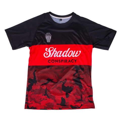 Shadow Finest Soccer Jersey - Black