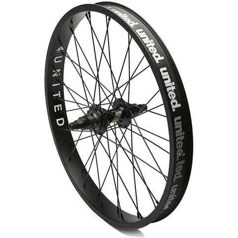 United Supreme V2 Rear Cassette Wheel Black