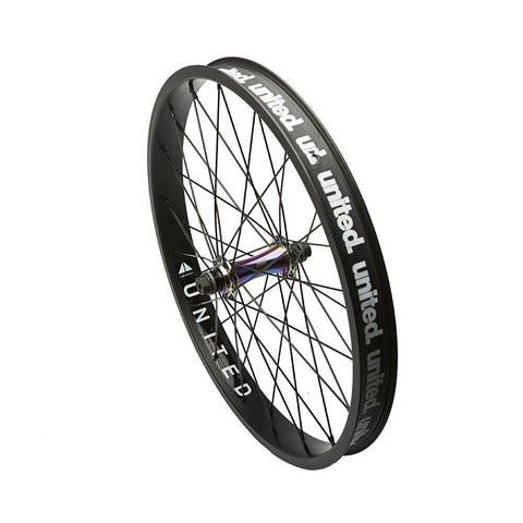 United Supreme V2 Complete Front Wheel at 69.99. Quality Front Wheels from Waller BMX.