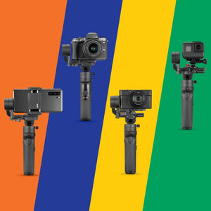 ZHIYUN Crane M2 Gimbals for Compact Mirrorless Action Camera Handheld Stabilizer Gopro|Handheld Gimbal