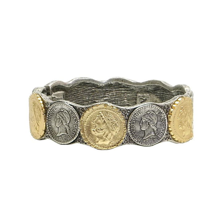 Tat2 Vintage silver and gold bracelet