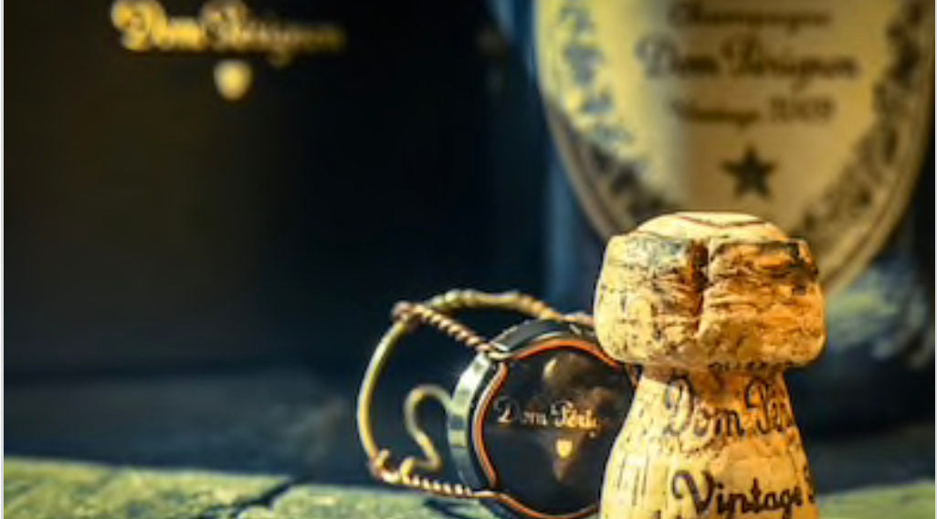 where does the cork for dom perignon champagne come from?