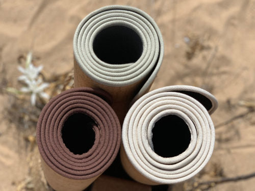 SANTOSHA - The Original Solid Cork Yoga Mat | 5.0 mm