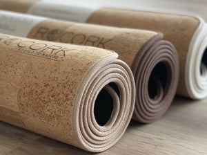 AHIMSA - More Comfort Solid Cork Yoga Mat | 6 mm