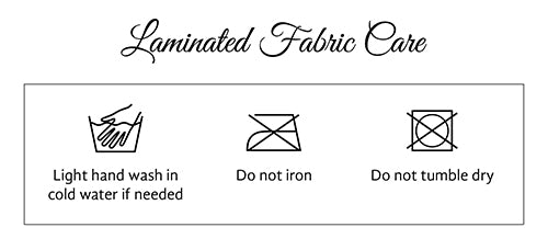 Laminated Fabric Care