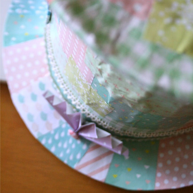 mad hatter easter bonnet close-up