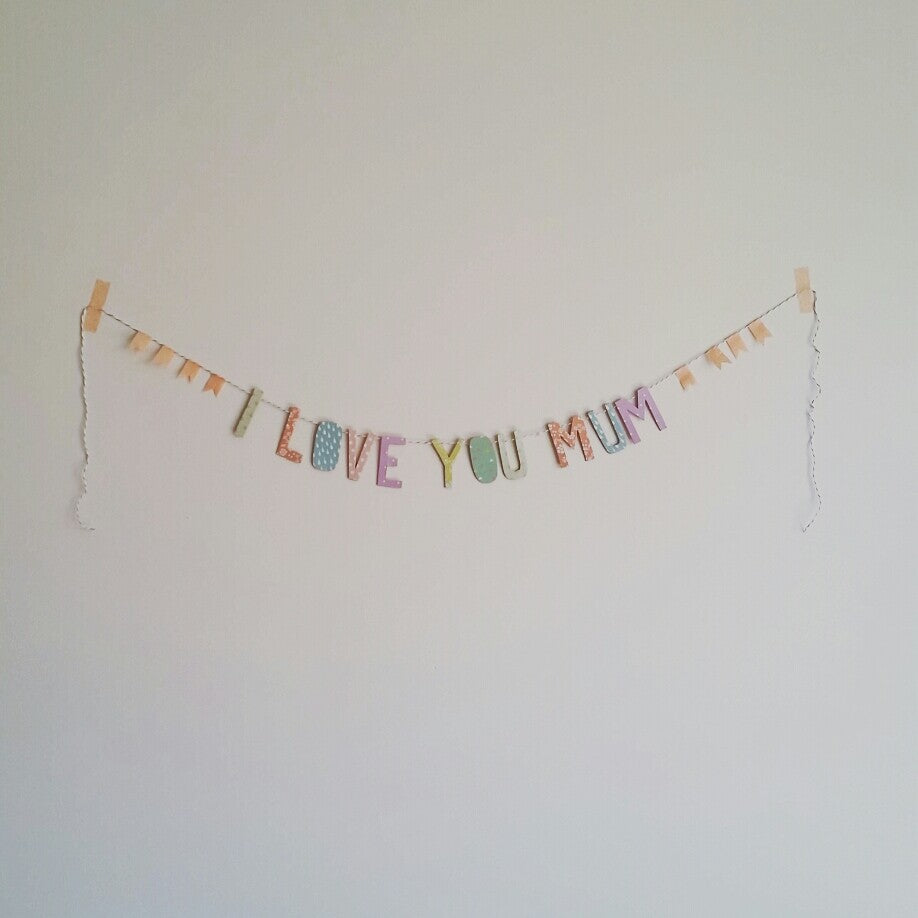 Dailylike Mother's Day Garland - Step 5