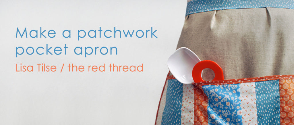 Dailylike Apron with Pocket by The Red Thread