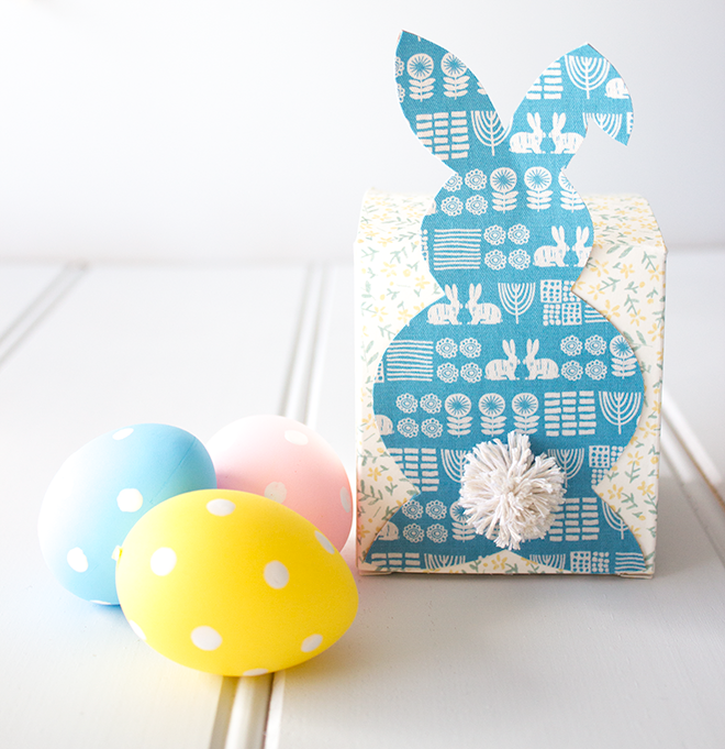 Dailylike Easter Bunny Box by Dunne with Style