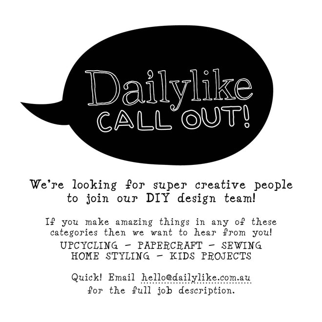 Dailylike Design Team Call Out
