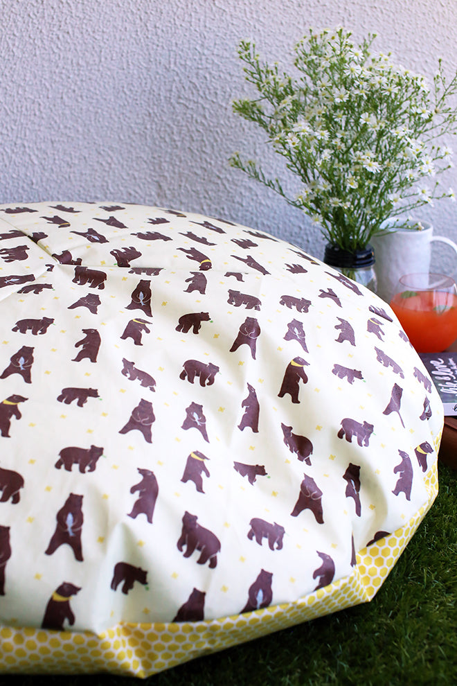 DIY Giant Round Cushion