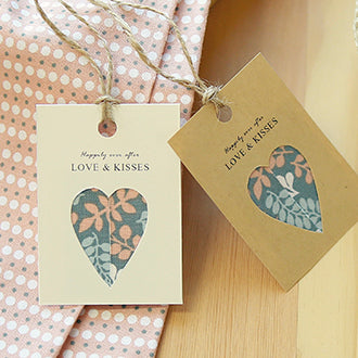 Dailylike Fabric Tape Heart Tags