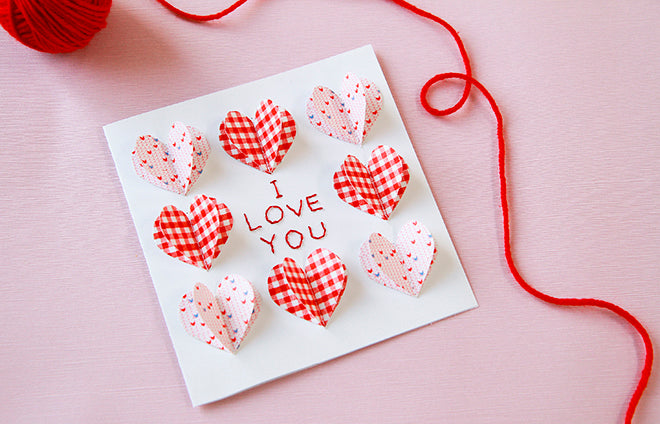 Dailylike Pop Up Hearts Card