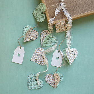 Dailylike Washi Tape Heart Garland