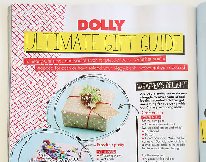 DOLLY Ultimate Gift Guide