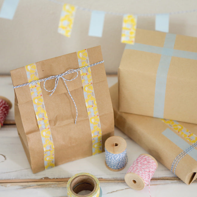 Dailylike Masking Tape - Farm Washi Tape, Gift Bags and Bunting