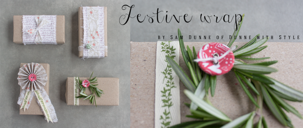 Festive Wrap by Dunne with Style for Dailylike Australia