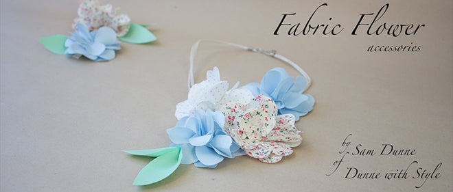 Dailylike Dunne with Style Fabric Flower Accessories