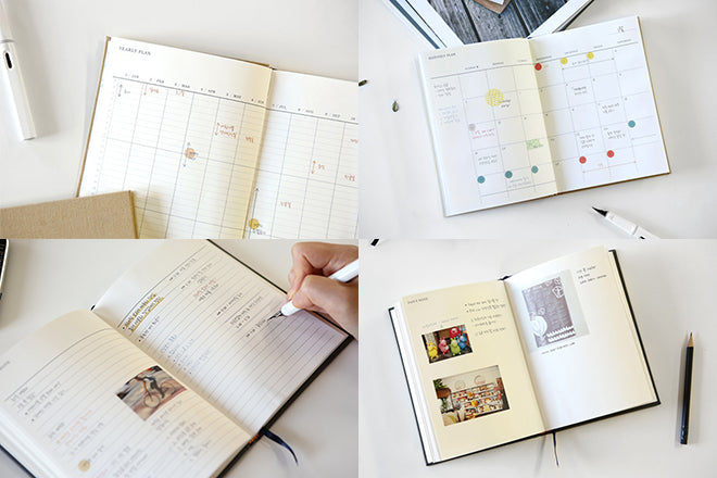 Dailylike Monthly Planning Book