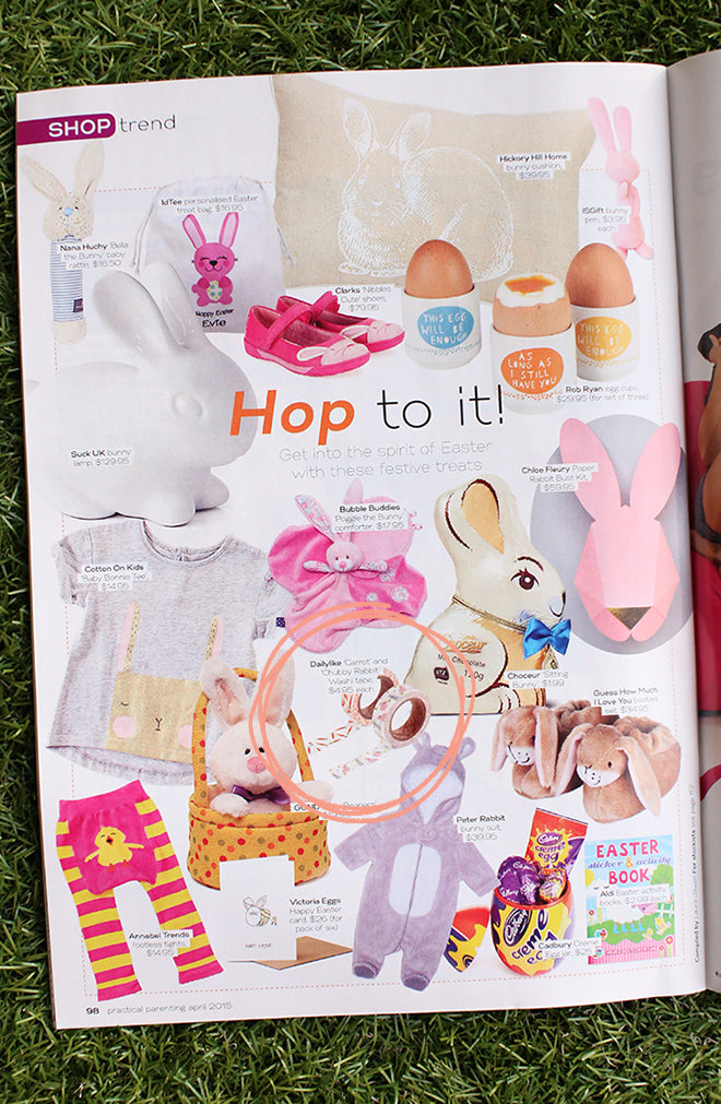 Practical Parenting magazine - Easter washi tapes