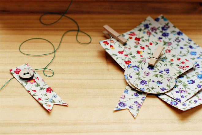 Dailylike Fabric Tags in Violet