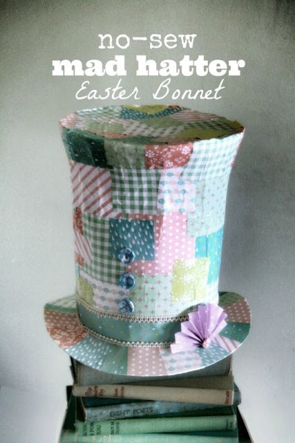 Dailylike mad hatter easter bonnet - main