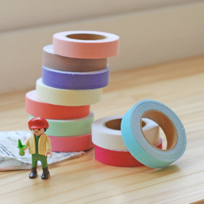 Dailylike Solid Fabric Tapes