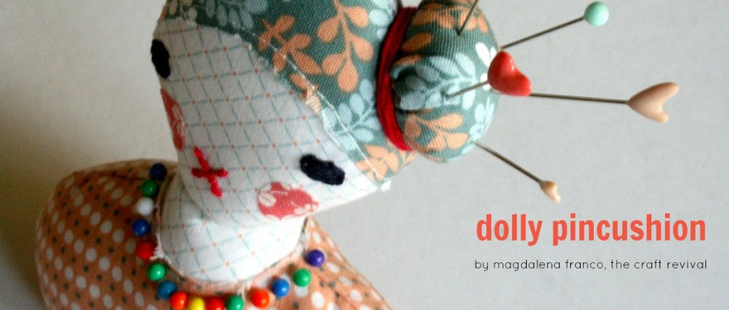 Dailylike Dolly Pin Cushion by The Craft Revival