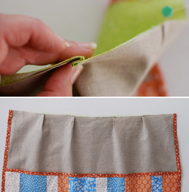 Dailylike Apron with Pocket - Step 14