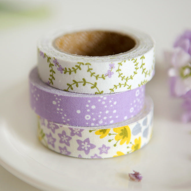Dailylike Fabric Tape - Wildflower